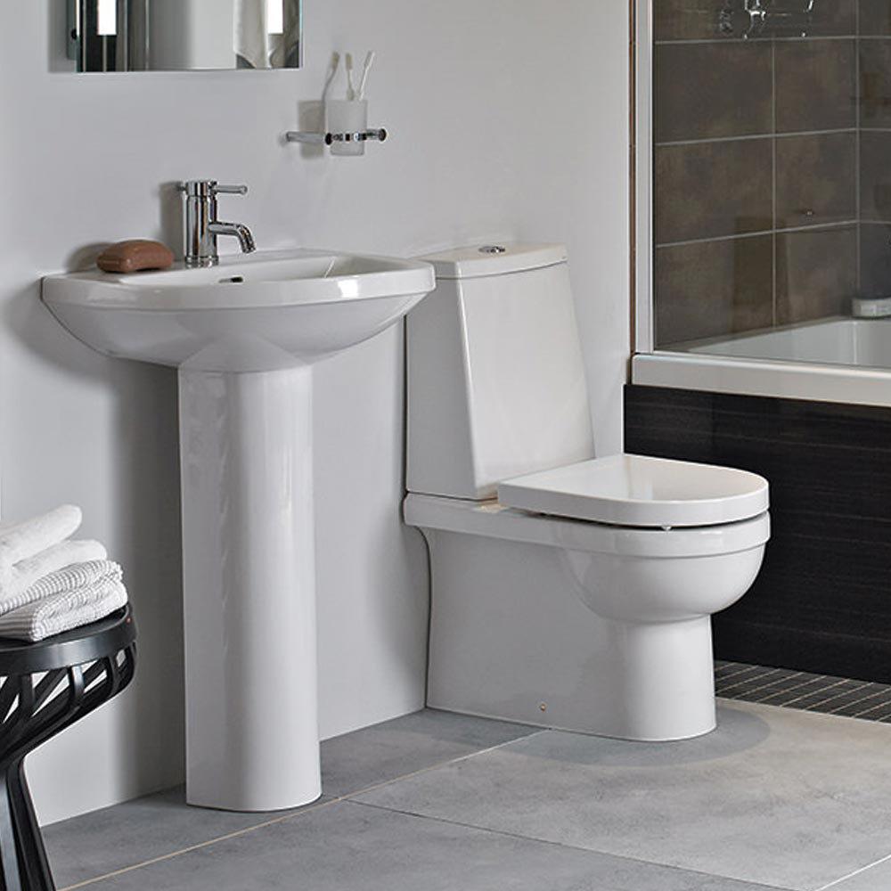 Heritage Zaar  Piece BTW Bathroom Suite Victorian Plumbingcouk - Small 4 piece bathroom