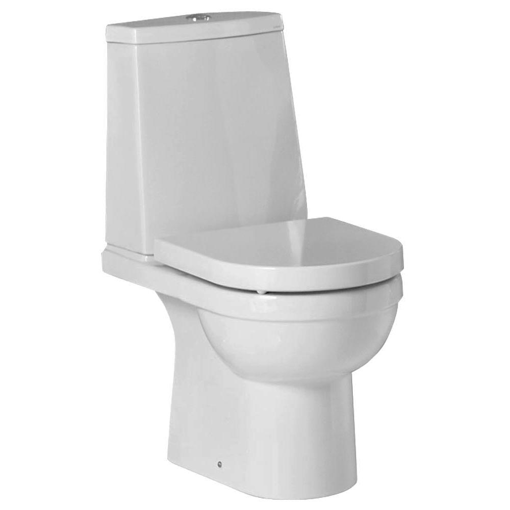 Heritage Zaar Open Back Toilet with Soft Close Seat Large Image