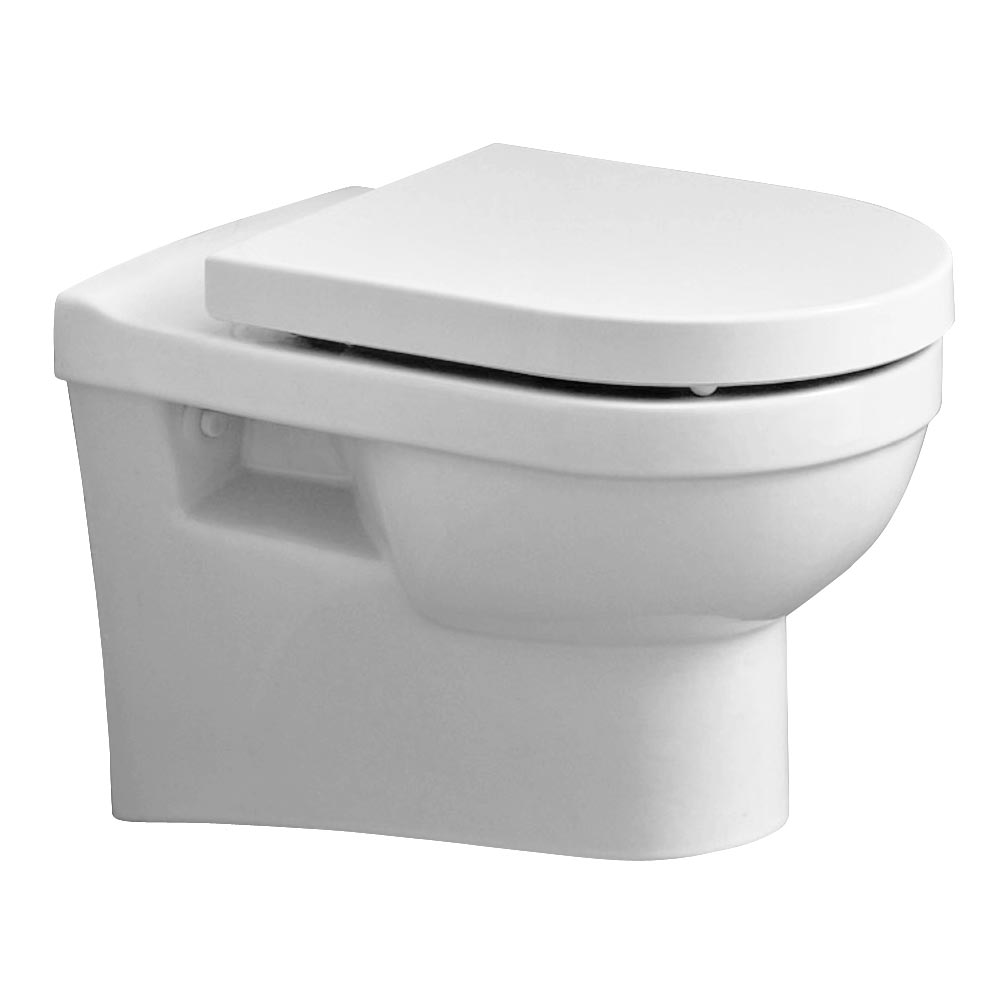 Heritage Zaar Wall Hung WC Pan with Soft Close Seat Large Image