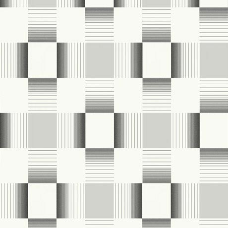 Holden Decor - Hikari Black/Cream Bathroom Wallpaper - 89143