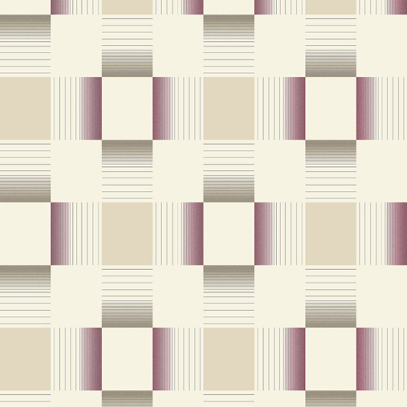 Holden Decor - Hikari Plum/Cream Bathroom Wallpaper - 89140 profile large image view 1