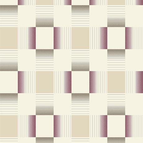 Holden Decor - Hikari Plum/Cream Bathroom Wallpaper - 89140