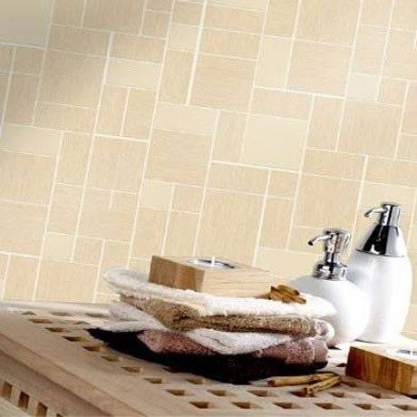 Holden Decor - Vogue Beige Bathroom Wallpaper - 89114 profile large image view 2