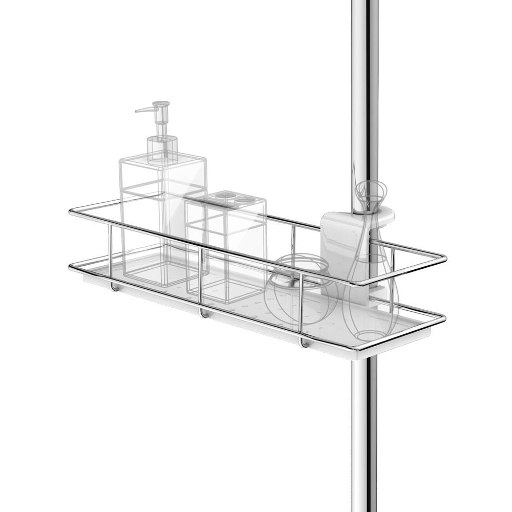 Hook-type Easy Hanging Shower Caddy profile large image view 3