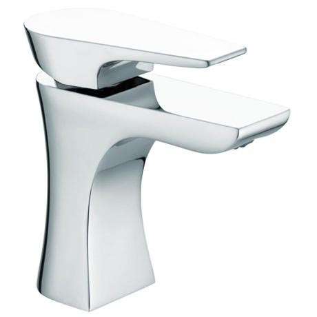 Bristan - Hourglass Contemporary Basin Mixer w/ Clicker Waste - Chrome - HOU-BAS-C