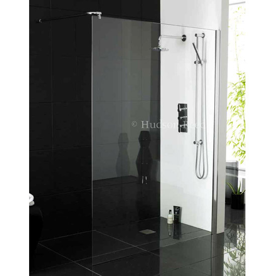 Hudson Reed 1950mm Wet Room Screen - Various Sizes Feature Large Image