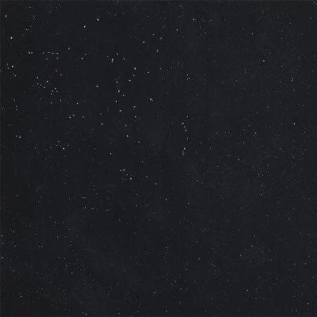 Hudson Reed 2000 x 365mm Black Sparkle Laminate Worktop