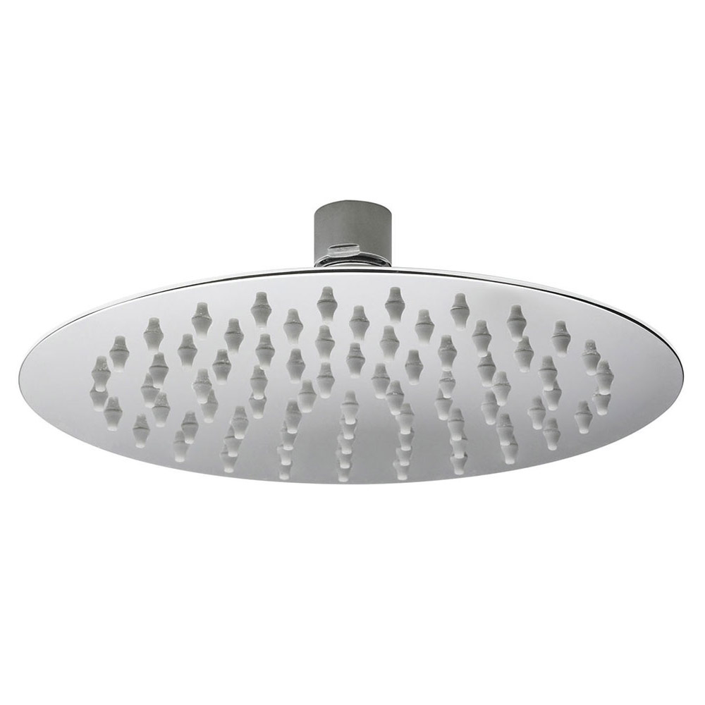 Hudson Reed - 200mm Round Fixed Shower Head - A3082 profile large image view 1