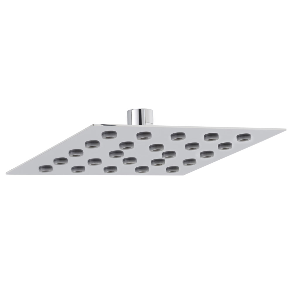 Hudson Reed - 200mm Square Shower Head - HEAD100 Large Image