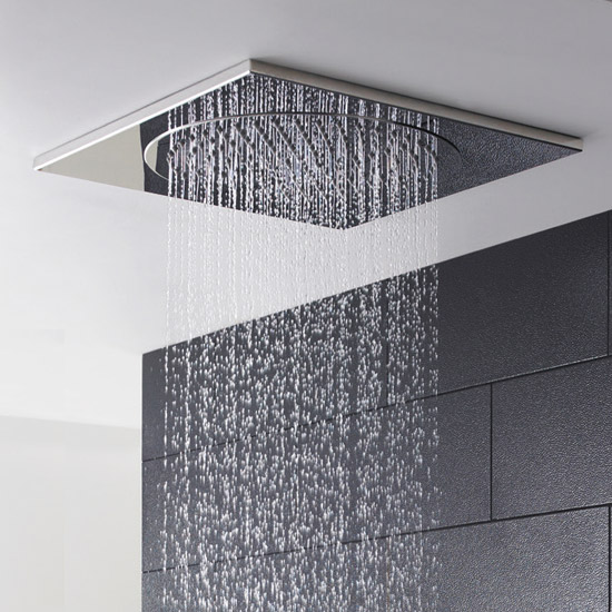 Hudson Reed - 370mm Ceiling Tile Shower Head - HEAD81 profile large image view 2