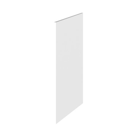 Hudson Reed 370mm White Gloss Decorative End Panel