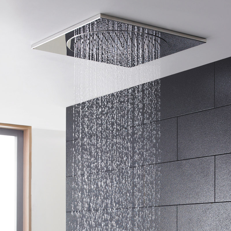 Hudson Reed - 500mm Ceiling Tile Shower Head - HEAD82 profile large image view 2