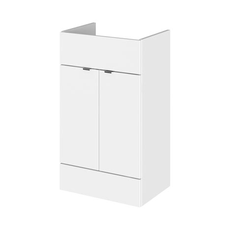 Hudson Reed 500x255mm Gloss White Compact Vanity Unit