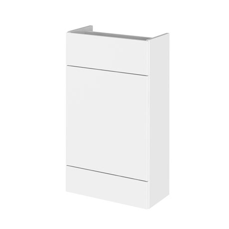 Hudson Reed 500x255mm Gloss White Compact WC Unit