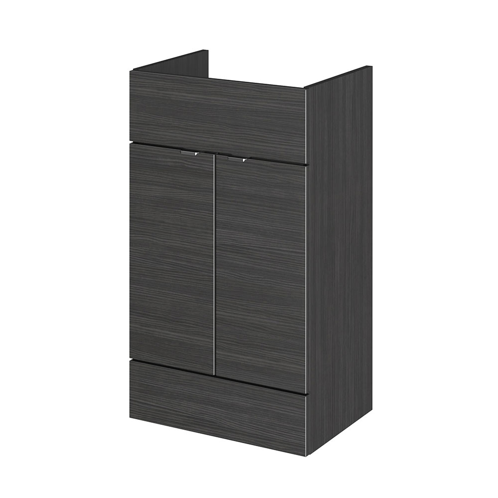 Hudson Reed 500x355mm Hacienda Black Full Depth Vanity Unit