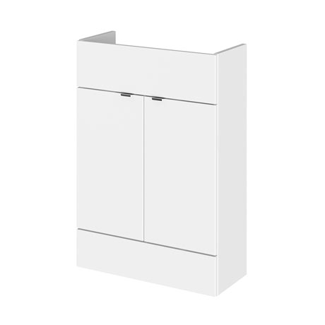 Hudson Reed 600x255mm Gloss White Compact Vanity Unit