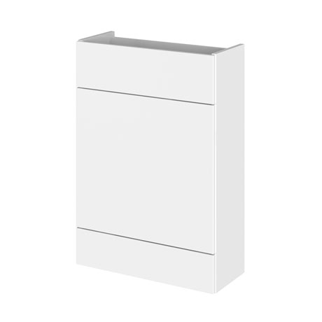 Hudson Reed 600x255mm Gloss White Compact WC Unit