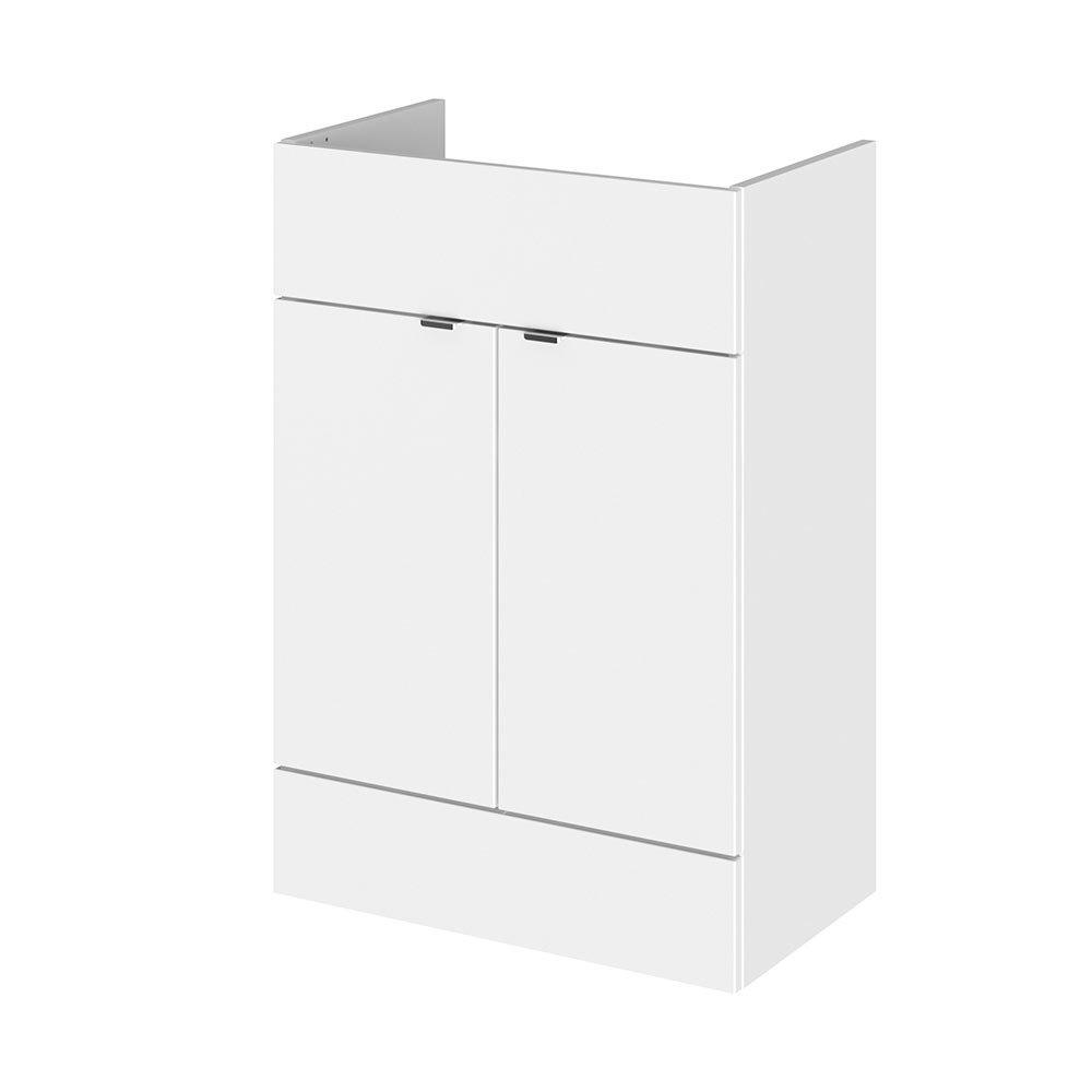 Hudson Reed 600x355mm Gloss White Full Depth Vanity Unit