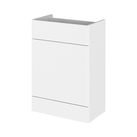 Hudson Reed 600x355mm Gloss White Full Depth WC Unit