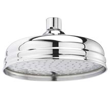 "Hudson Reed 8"" Apron Fixed Shower Head - Chrome - HEAD21 Medium Image"