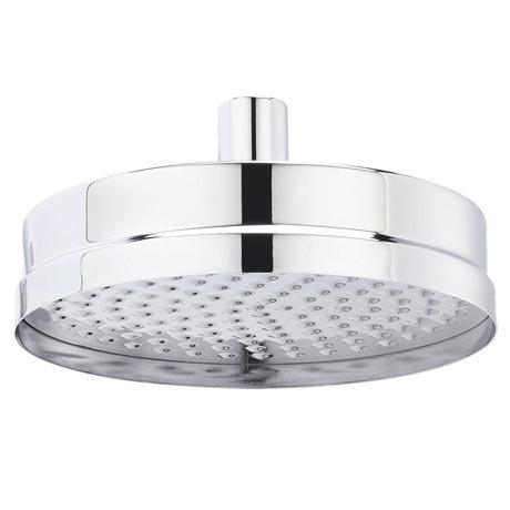 "Hudson Reed Tec 8"" Fixed Shower Head - Chrome - HEAD01"
