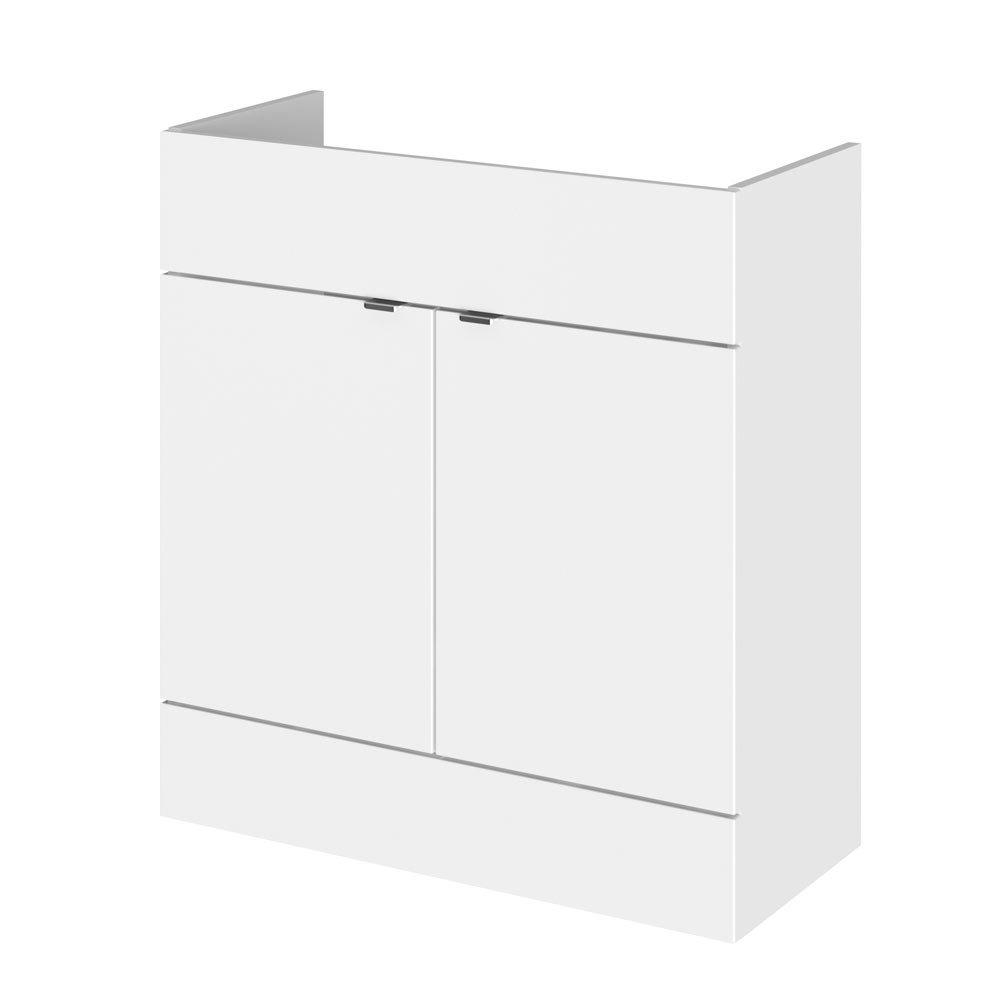 Hudson Reed 800x355mm Gloss White Full Depth Vanity Unit