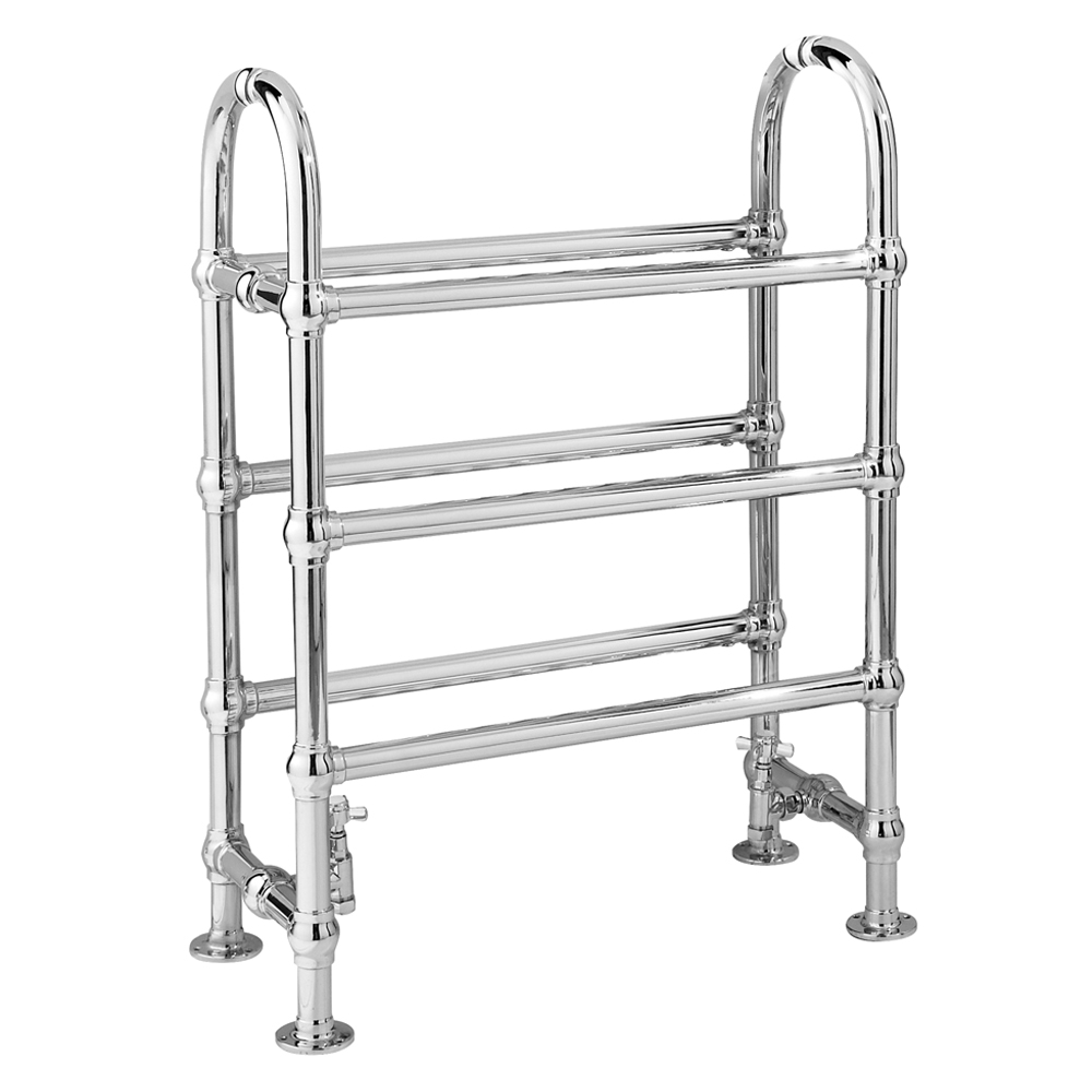 Hudson Reed Adelaide Traditional Heated Towel Rail - 685 x 780mm - HW335 Large Image