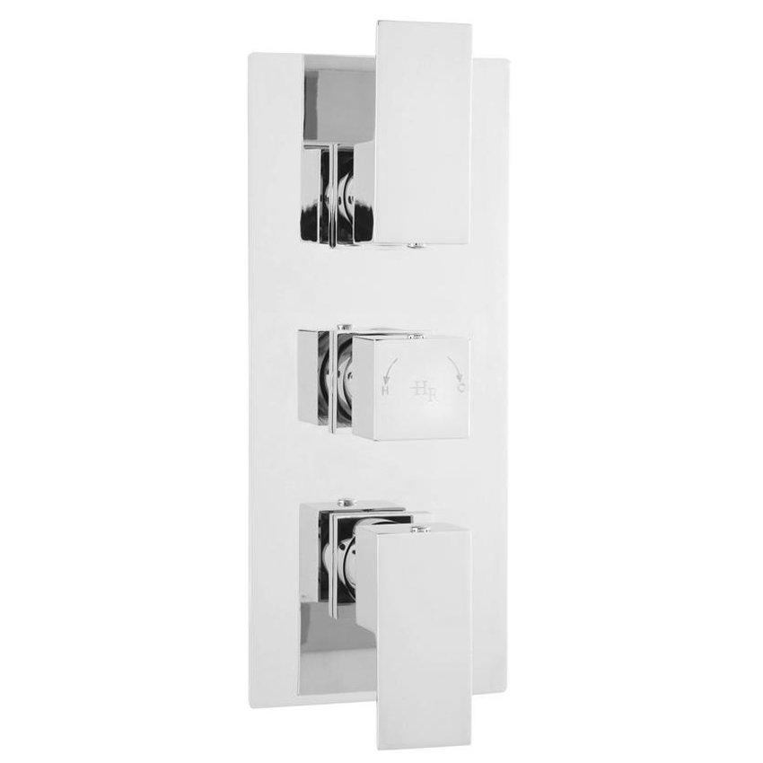 Hudson Reed Art Triple Concealed Thermostatic Shower Valve - ART3211