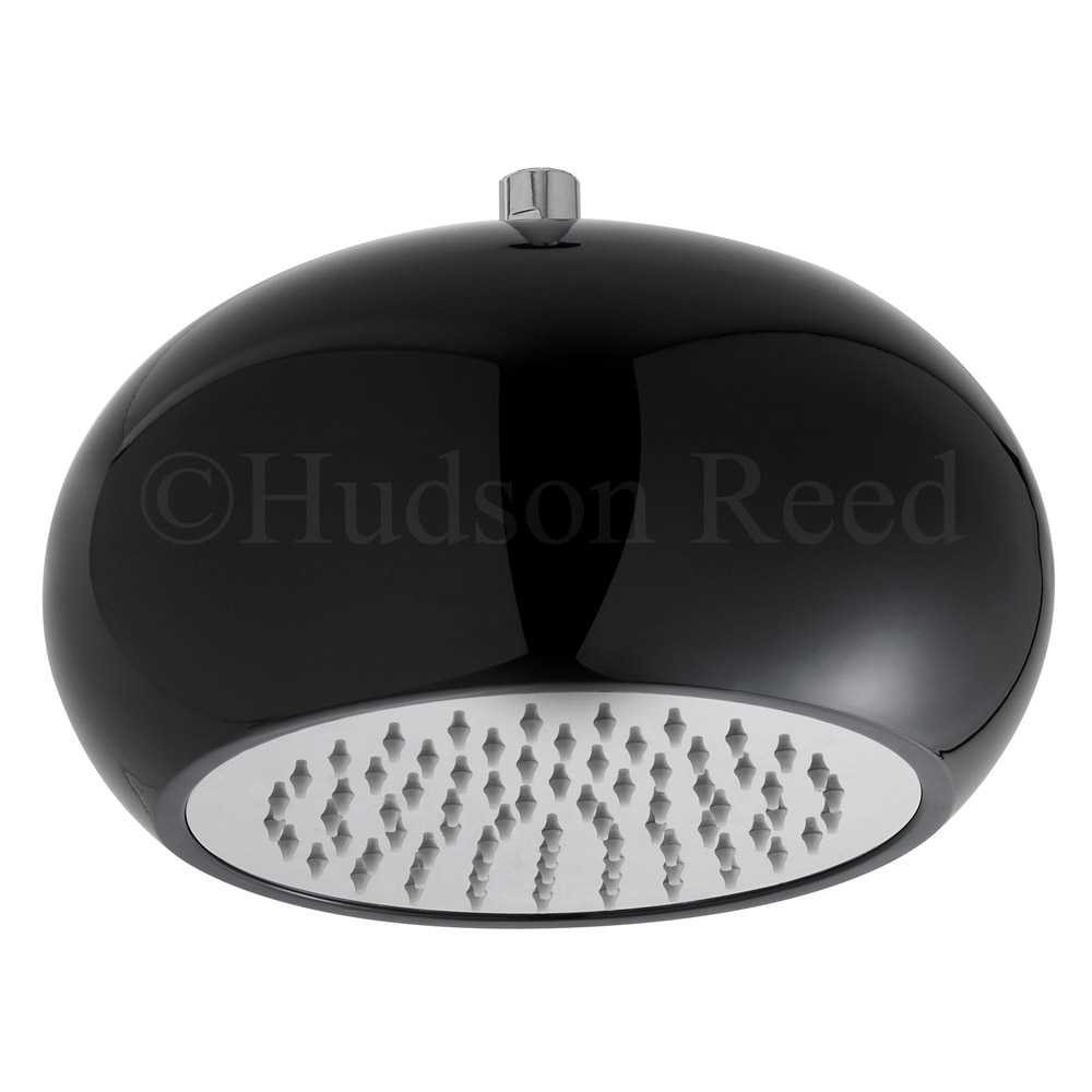 Hudson Reed Black 280mm Ceiling Mounted Fixed Shower