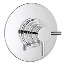 Hudson Reed Dual Concealed Thermostatic Shower Valve - Chrome - JTY025 Medium Image