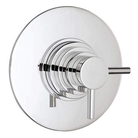 Hudson Reed Dual Concealed Thermostatic Shower Valve - Chrome - JTY025