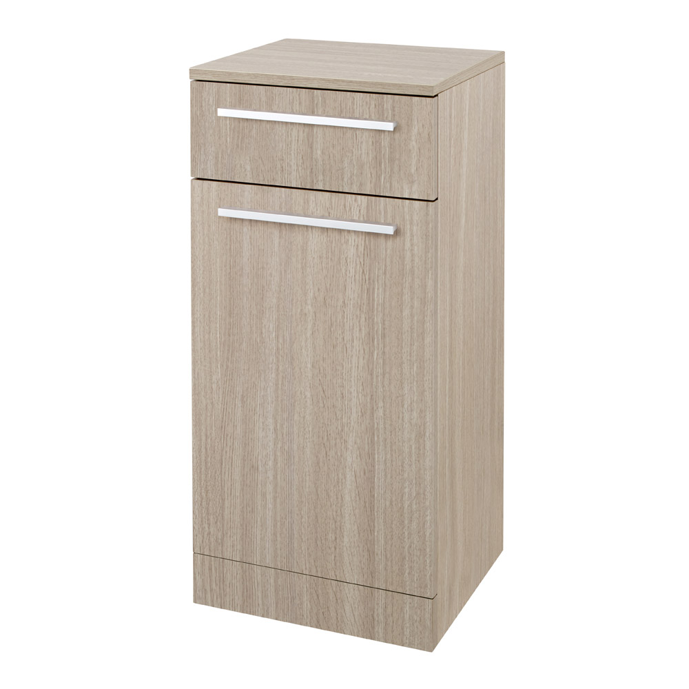 Hudson Reed - Dunbar Light Oak Storage Cabinet - CAB389 Large Image