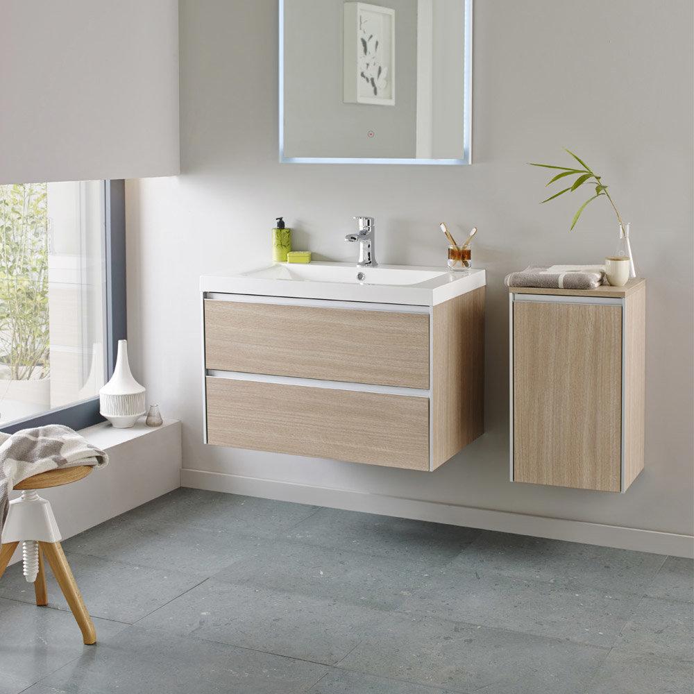 Hudson Reed - Erin 800mm Light Oak Furniture Pack - FEN005 Large Image