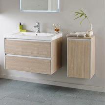 Hudson Reed - Erin 800mm Light Oak Furniture Pack - FEN005 Medium Image