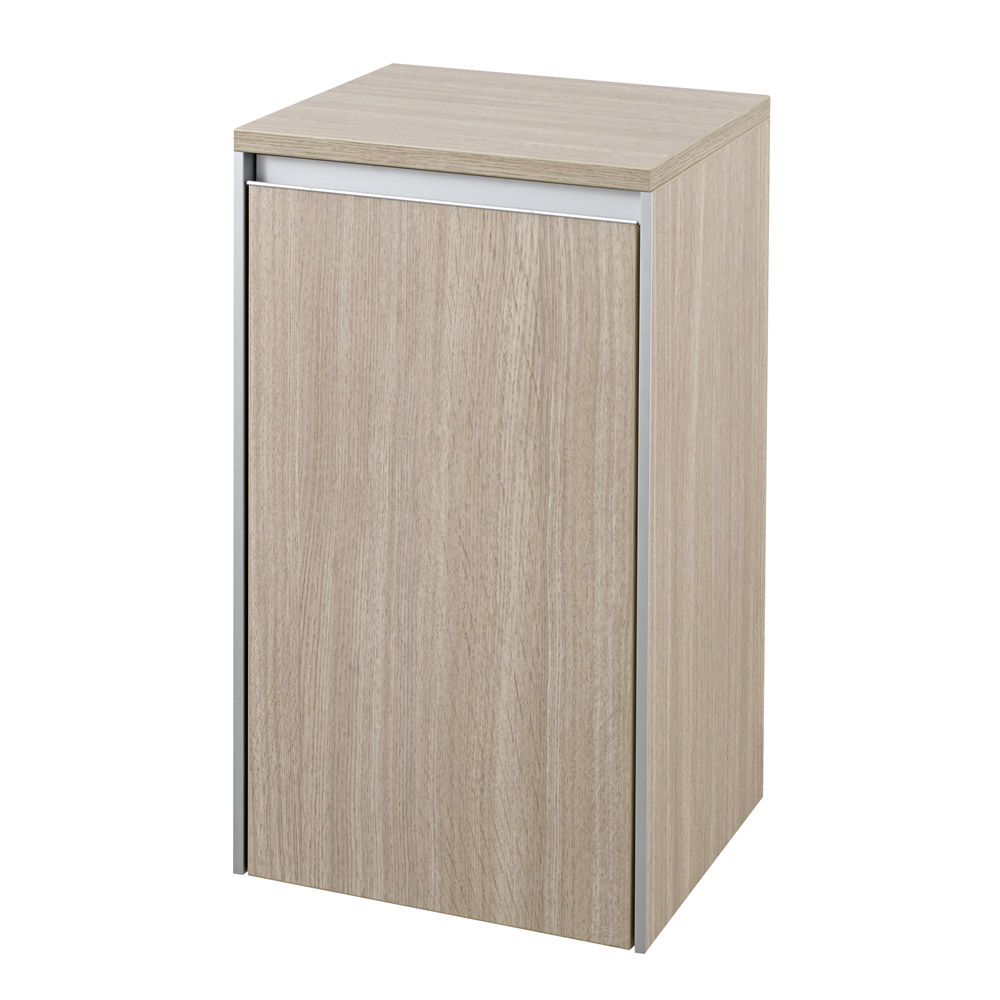 Hudson Reed - Erin Light Oak Side Cabinet - CAB381 Large Image