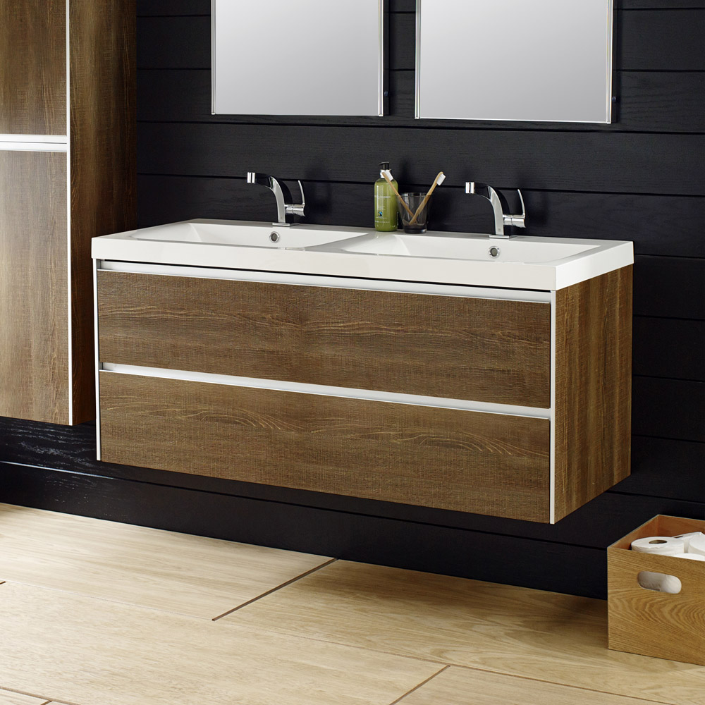 Hudson Reed 'Erin' Double Vanity Unit