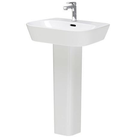 Hudson Reed - Farnham 1TH basin & full pedestal - CFA002
