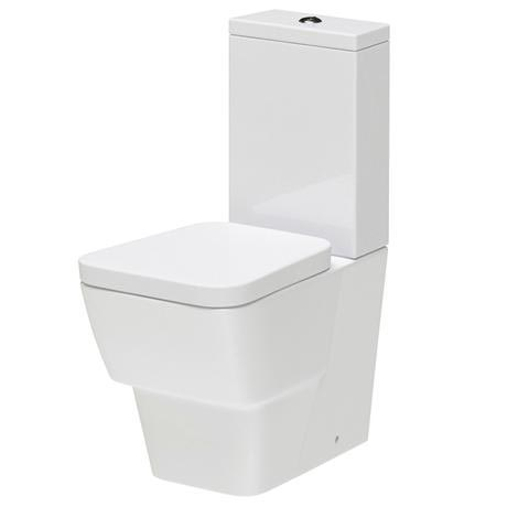 Hudson Reed - Farnham BTW close coupled pan & cistern with soft close seat - CFA003