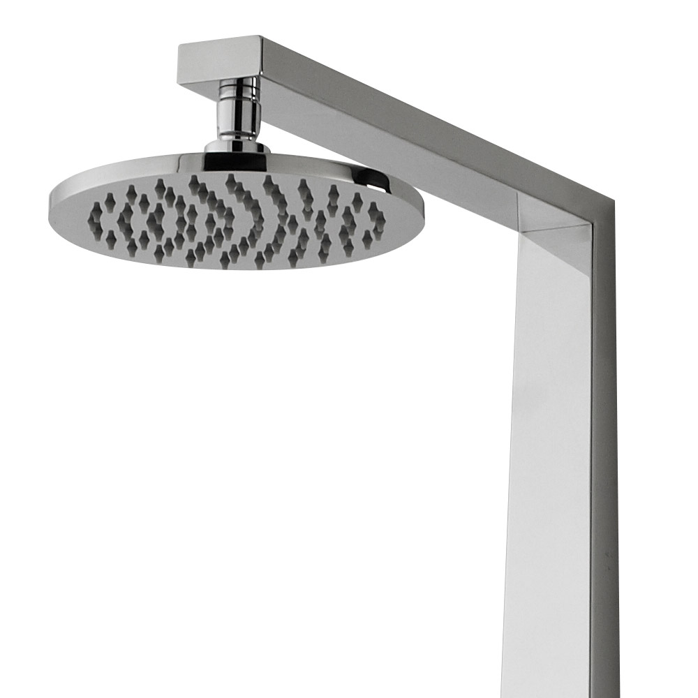 Hudson Reed - Glitz Thermostatic Shower Panel - AS362 profile large image view 2