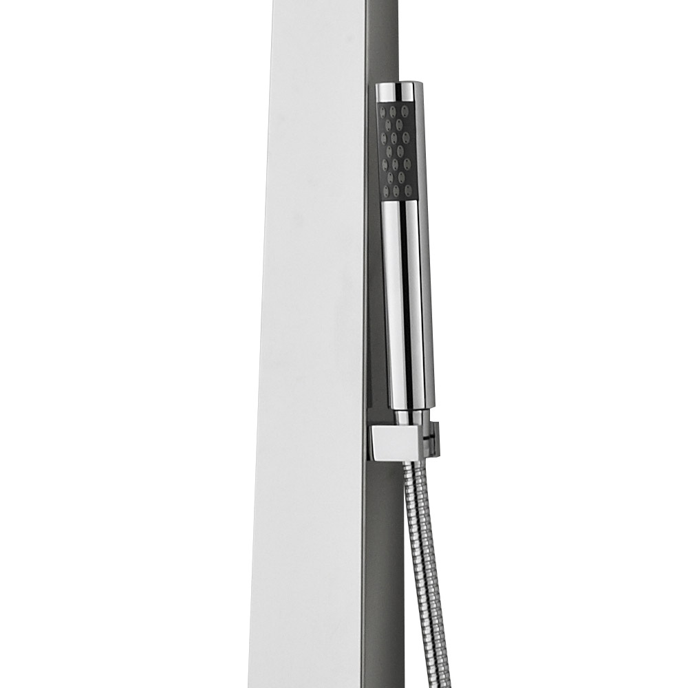 Hudson Reed - Glitz Thermostatic Shower Panel - AS362 profile large image view 3