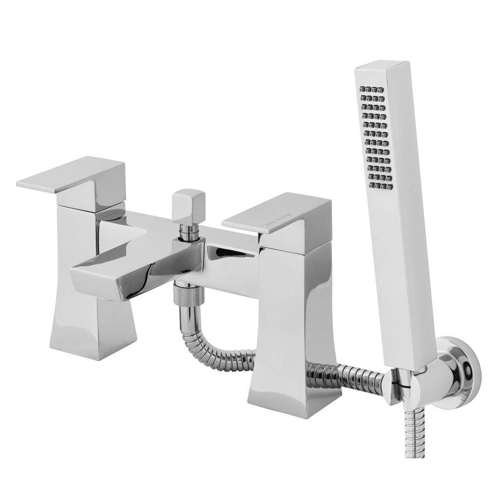 Hudson Reed - Grade Bath Shower Mixer with Shower Kit - TGD304 Large Image