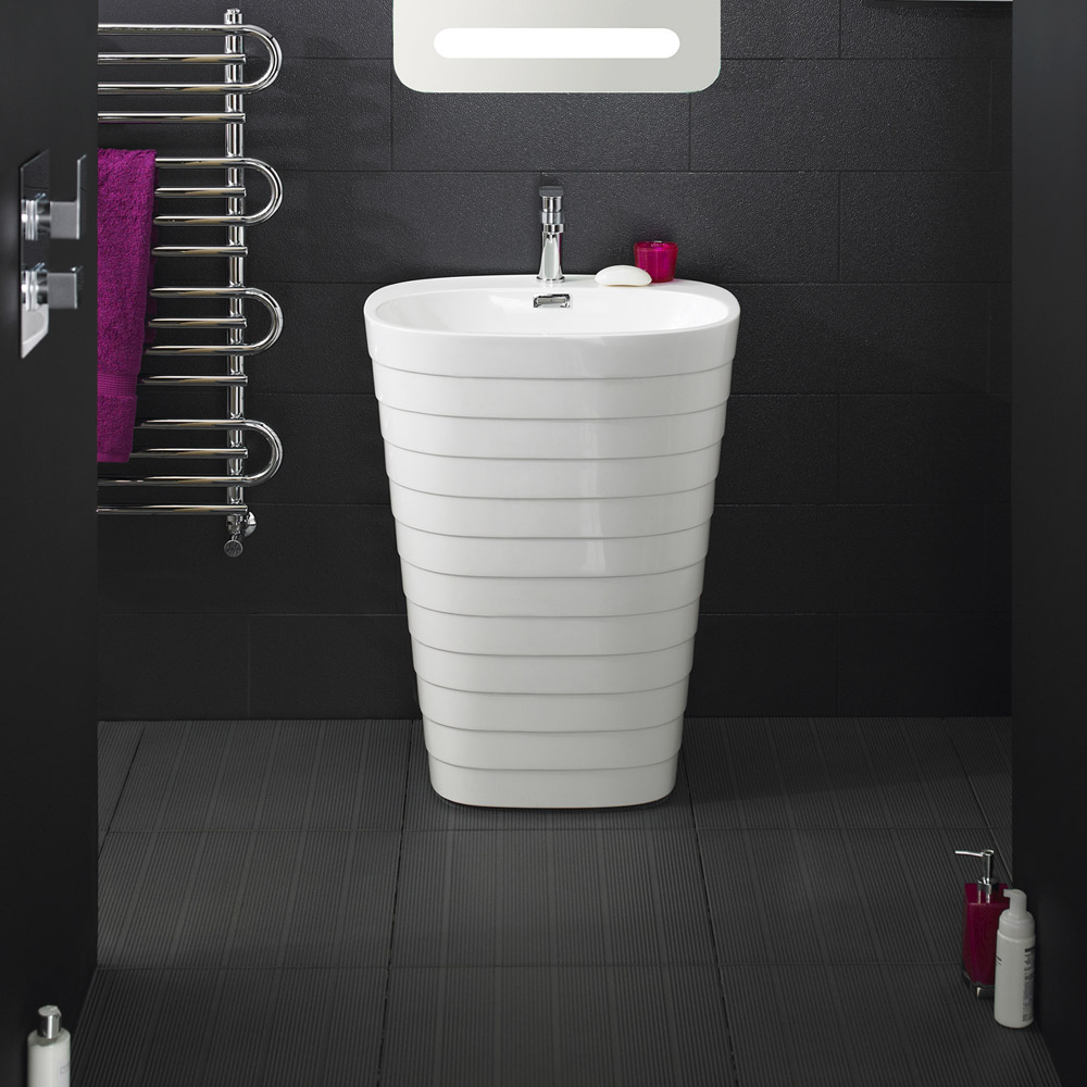 Hudson Reed - Hive Floor Standing Basin - BAS037 Profile Large Image