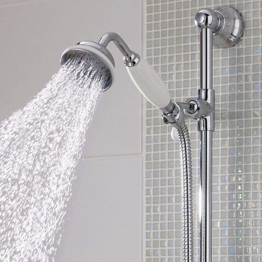 Hudson Reed Large Traditional Shower Handset - A3150G Profile Large Image