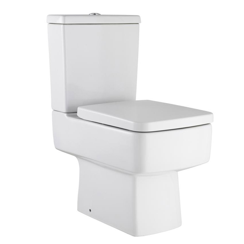 Hudson Reed Memoir Compact Gloss White Bathroom Suite Feature Large Image