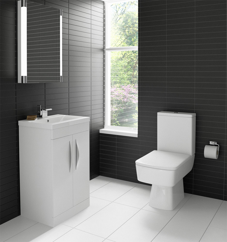 Delicieux Hudson Reed Memoir Compact Gloss White Bathroom Suite At Victorian Plumbing  UK