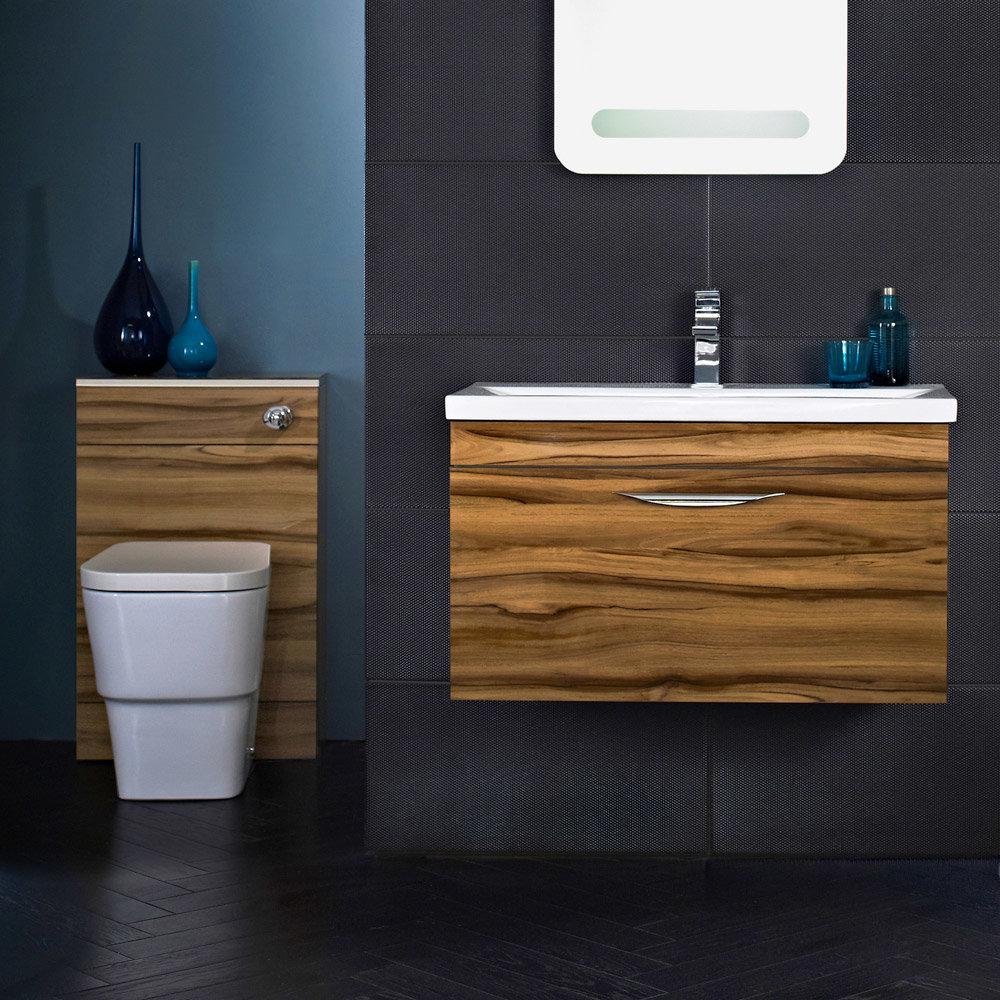 Hudson Reed Memoir Gloss Walnut Bathroom Suite Profile Large Image