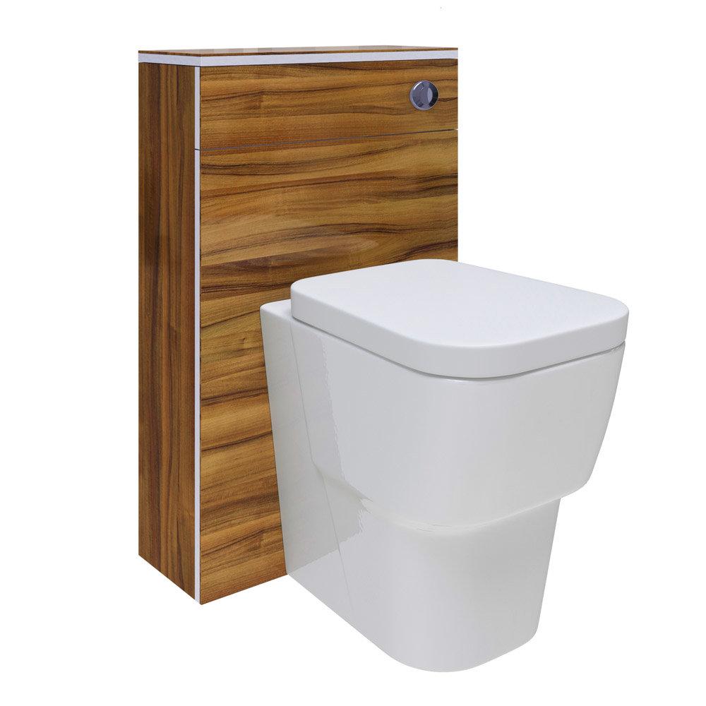 Hudson Reed Memoir Gloss Walnut Bathroom Suite Standard Large Image