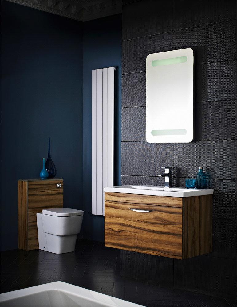 Hudson Reed Memoir Gloss Walnut Bathroom Suite Large Image