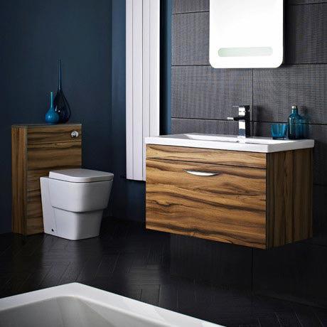 Hudson Reed Memoir Gloss Walnut Bathroom Suite
