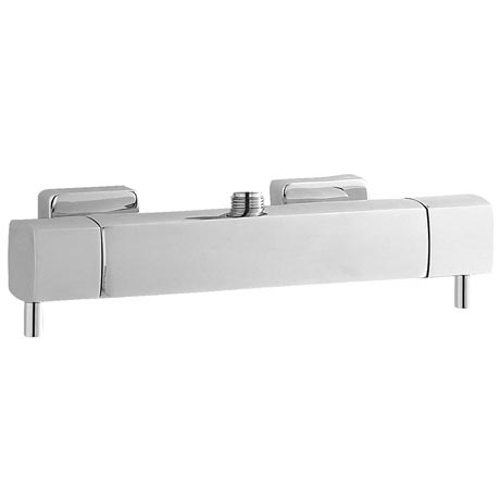 Hudson Reed Quadro Thermostatic Bar Valve (Top Outlet) - Chrome - A3502